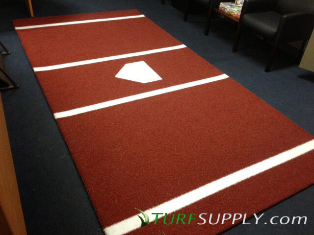 Commercial Pro Grade Batting Hitting Cage Mat 12x6
