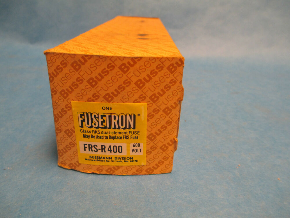 bussmann fusetron frs r 400 amp fuse 600 volts  new Electrical Fuse Box AC Fuse Box