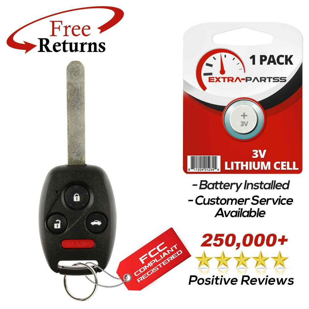 New uncut replacement key keyless entry remote car fob for for Door entry fobs