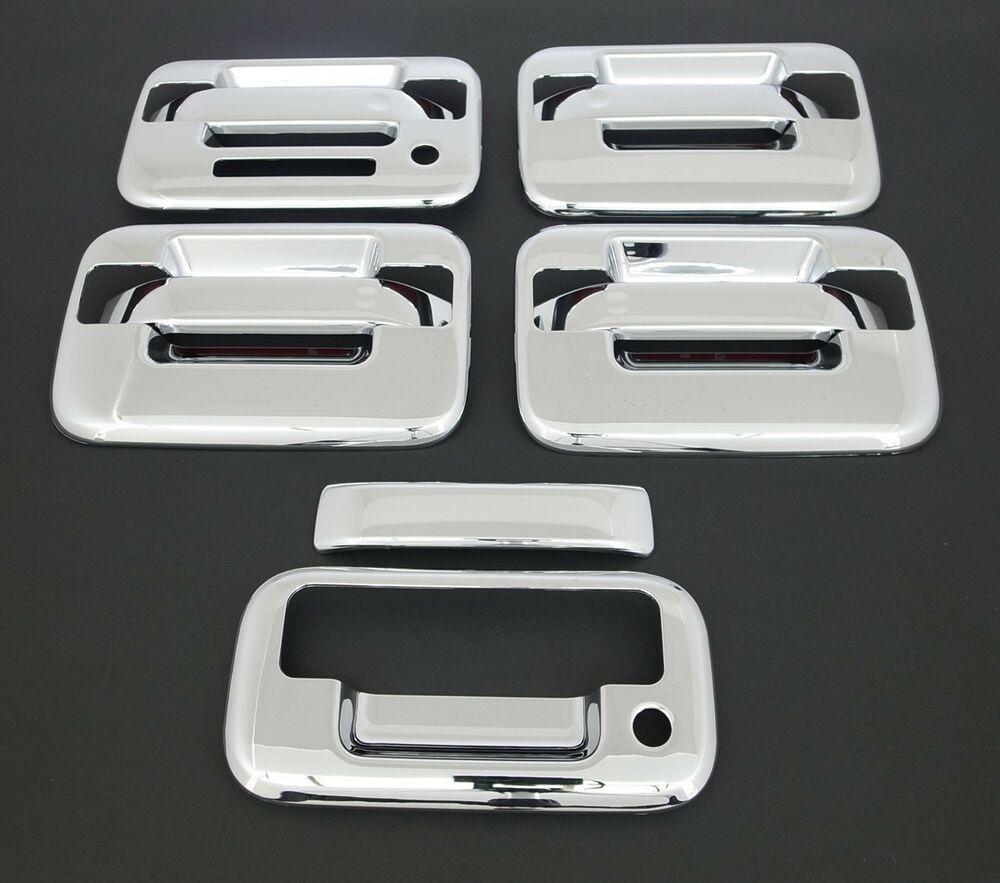2004 2014 ford f150 4 dr chrome door tailgate handle. Black Bedroom Furniture Sets. Home Design Ideas