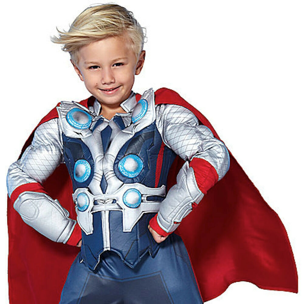 Disney Store The Avengers Deluxe Thor Costume for Boys Toddlers Halloween NWT | eBay  sc 1 st  eBay & Disney Store The Avengers Deluxe Thor Costume for Boys Toddlers ...