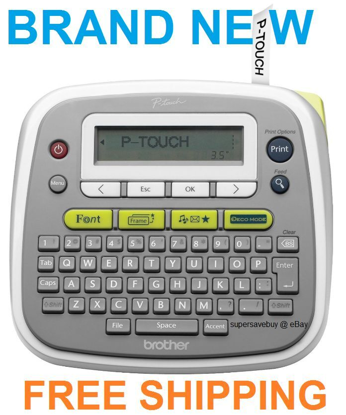 It is a graphic of Dynamite Brother P Touch Label Printer Instructions