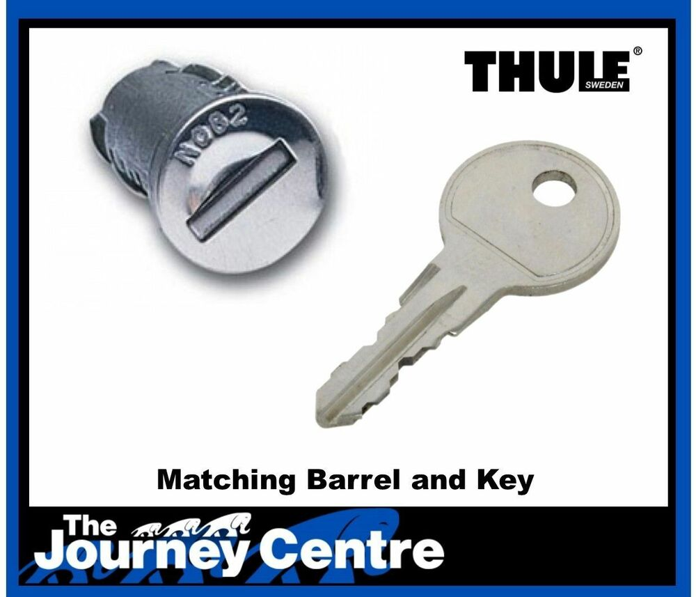 Thule Replacement Spare Locks Key Also Fit Some Mont Blanc