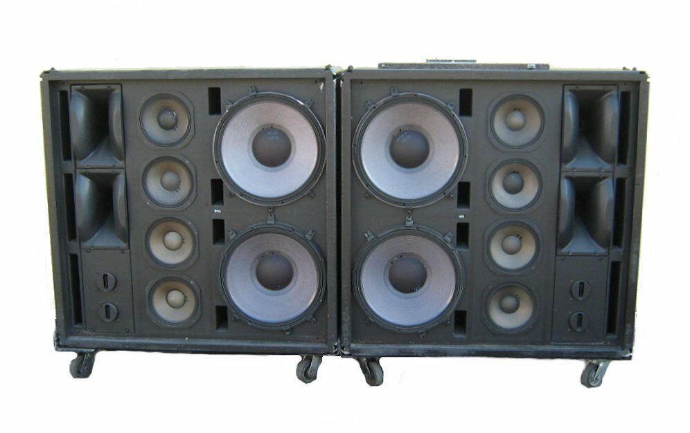 clair brothers s4 professional 4 way pa speaker system jbl 2441 2242 2405h 2123 ebay. Black Bedroom Furniture Sets. Home Design Ideas
