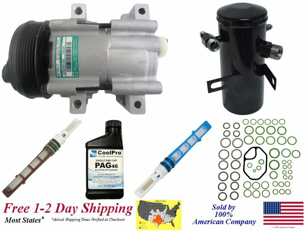 New A  C Ac Compressor Kit For 1994