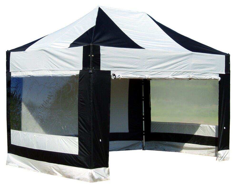 3mx4 5m Heavy Duty Protex 50 Pop Up Gazebo With Sides