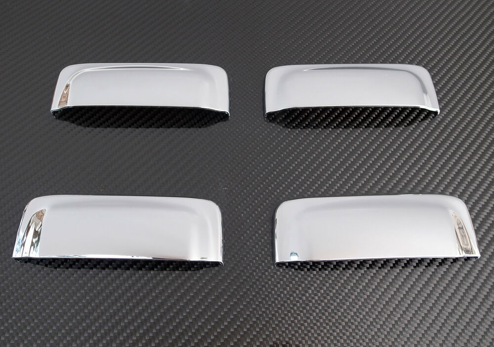 2002 2003 2004 Ford Explorer Sport Trac 4 Dr Chrome Door Handle Cover Ebay