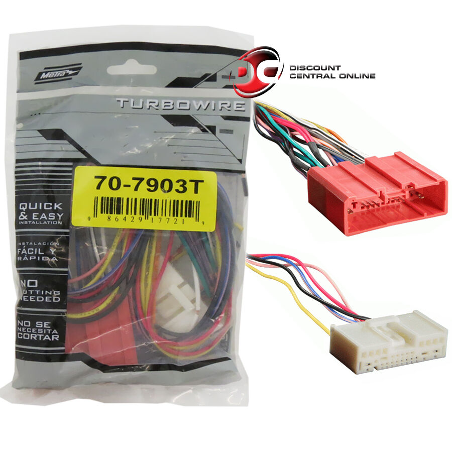 metra 70 7903t wiring harness for select 2007 up mazda vehicles ebay