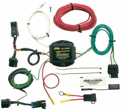 hoppy 41345 trailer hitch wiring kit for 03 13 chevy. Black Bedroom Furniture Sets. Home Design Ideas