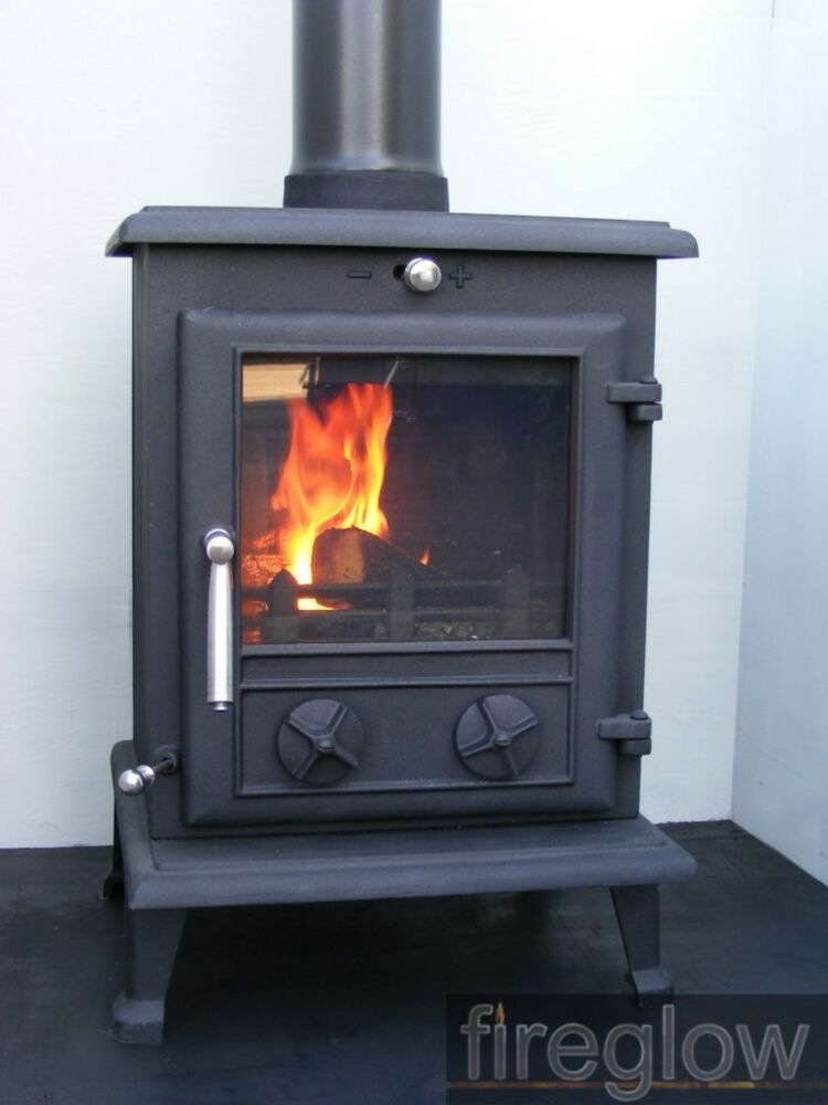 8kw fireglow 17 high efficiency solid fuel multi log for Small efficient wood stoves
