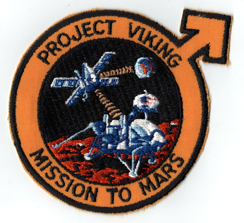 PROJECT VIKING - MISSION TO MARS - NASA JPL SPACE PATCH | eBay