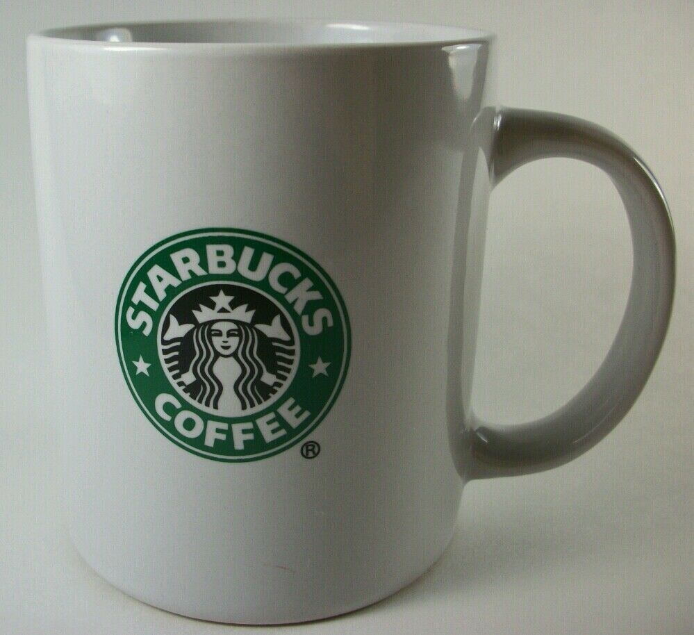 Starbucks 2009 Classic Mermaid Logo Ceramic Coffee Mug