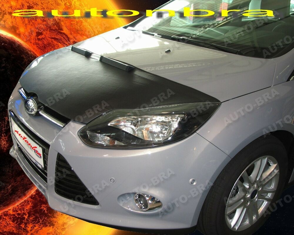 ford focus 3 mk3 2011 2013 bonnet bra stoneguard protector ebay. Black Bedroom Furniture Sets. Home Design Ideas