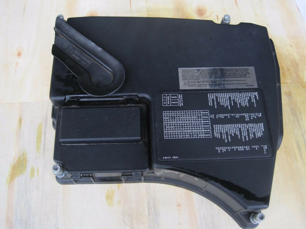 Bmw E38 740i 740il 750il Engine Compartment Fuse Box Relay