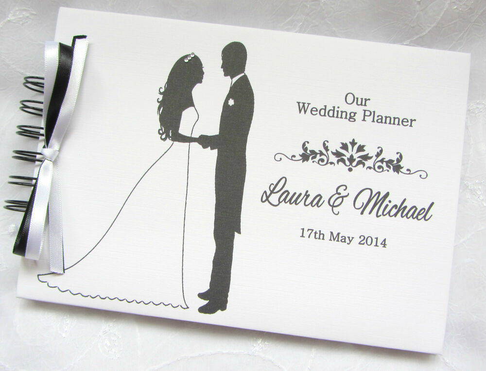 Wedding Planner Ideas Book: PERSONALISED BRIDE & GROOM WEDDING PLANNER* PHOTO