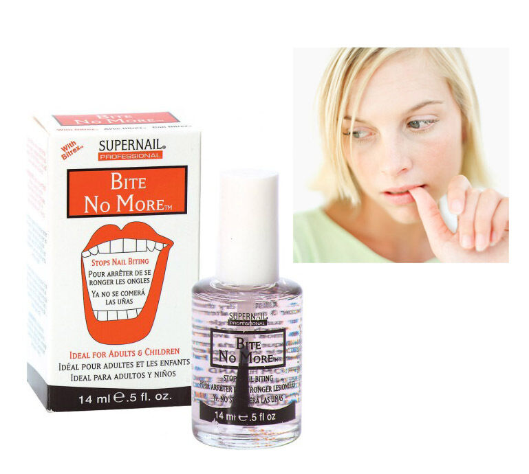 SuperNail BITE NO MORE STOPS NAIL BITING Ideal for Adults & Children ...