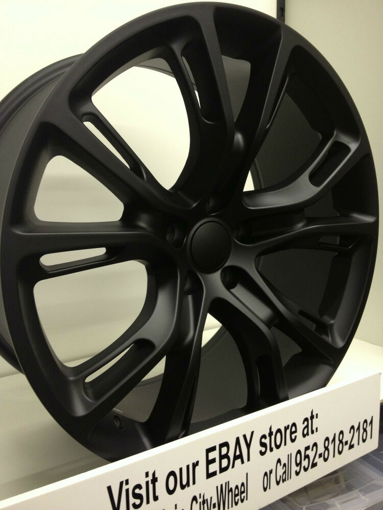 Sell Car For Parts >> 20 Inch Matte Black 2013 Jeep Grand Cherokee SRT Factory OE Wheels Rims 20x10 4x | eBay