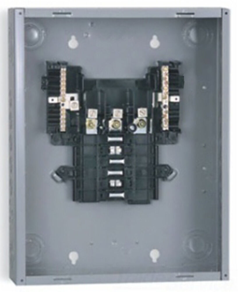 Amp Circuit Breaker Volt 40 Manual Reset With Square D Schneider Electric Qob130 Miniature 24 3 Phase 12 Slot 125 Load Center Lc Sqd