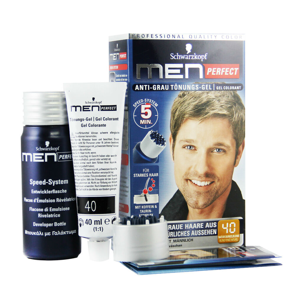 Schwarzkopf Men Perfect Just For Men Gentle Hair Color
