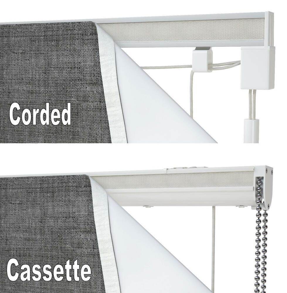 Speedy Complete Roman Blind Kit Cord Lock Cord Operated