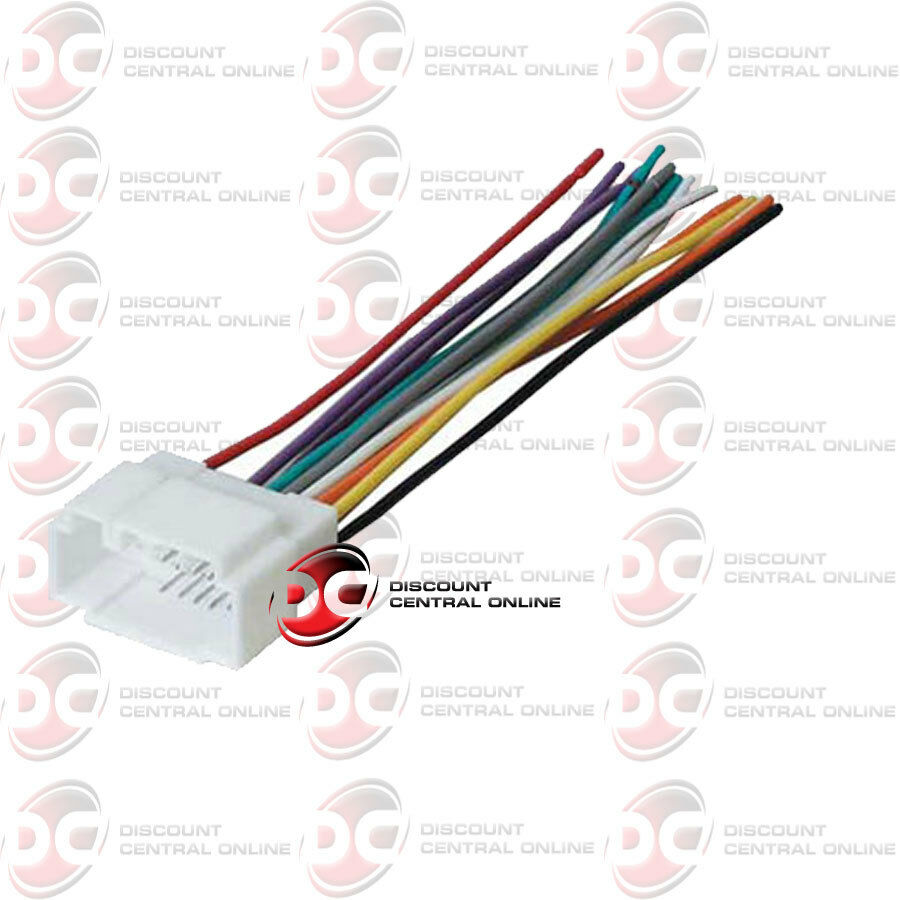 metra 70 1721 wiring harness for 1998 2005 acura and honda vehicles ebay