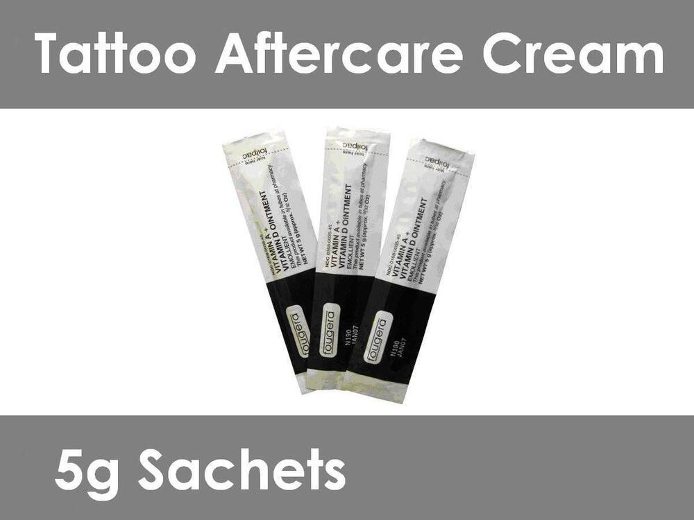 Tattoo Aftercare Cream - Vitamin A & D - Faster healing