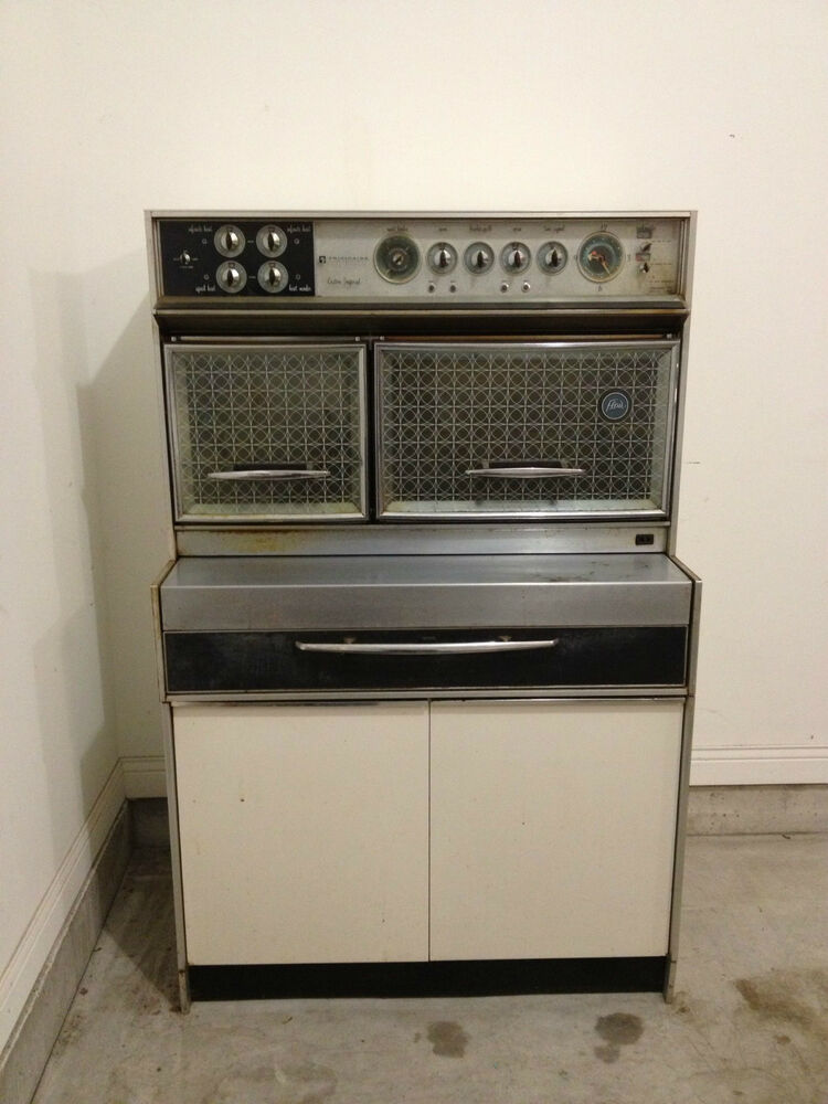 Mid Century Modern Oven ~ Vintage frigidaire range oven flair custom imperial mid