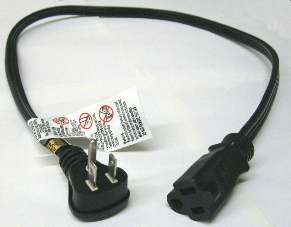 Flat Extension Cord : Ft flat plug power extension cord awg spt nema