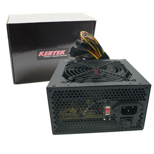 Power For Computer : Watt w atx v power supply dual fan pc desktop