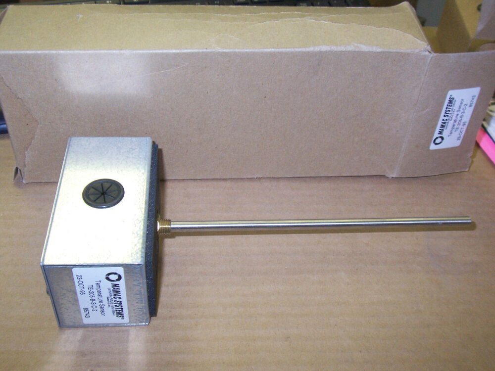 New Mamac Systems Temperature Sensor Te 205 B 3 C 2 Fire
