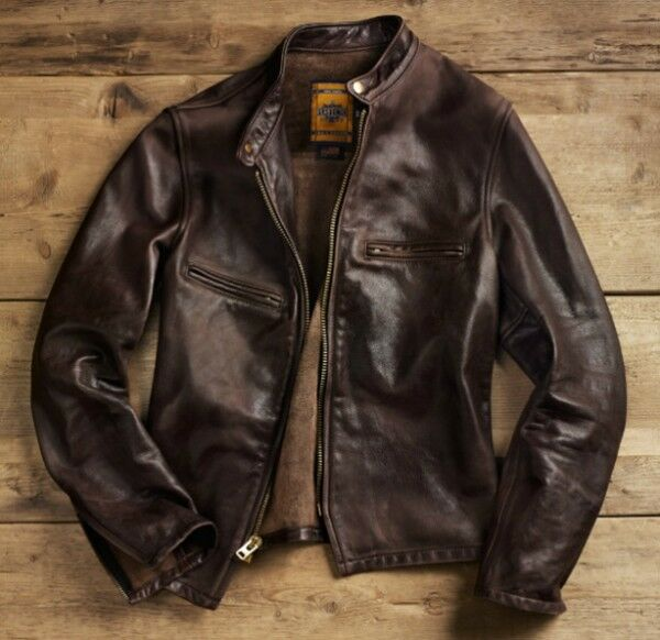 Restoring leather jacket