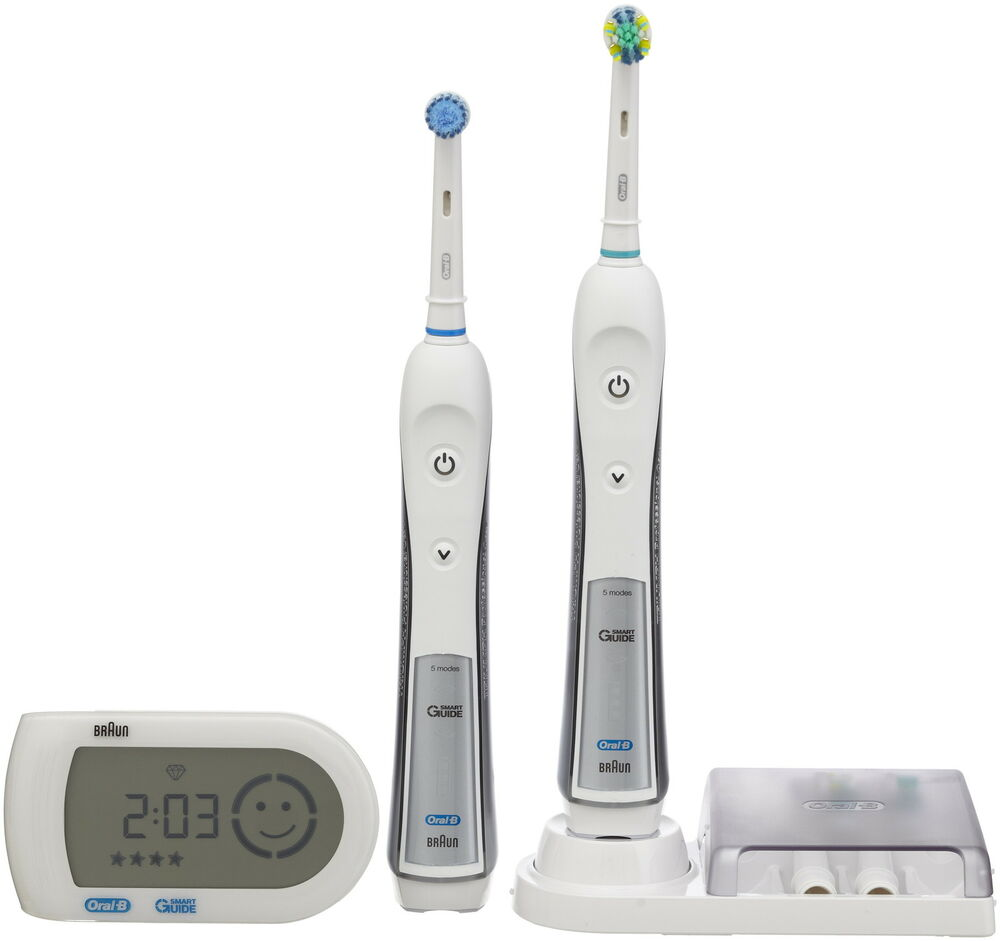 braun oral b triumph 5000 electric toothbrush new ebay. Black Bedroom Furniture Sets. Home Design Ideas