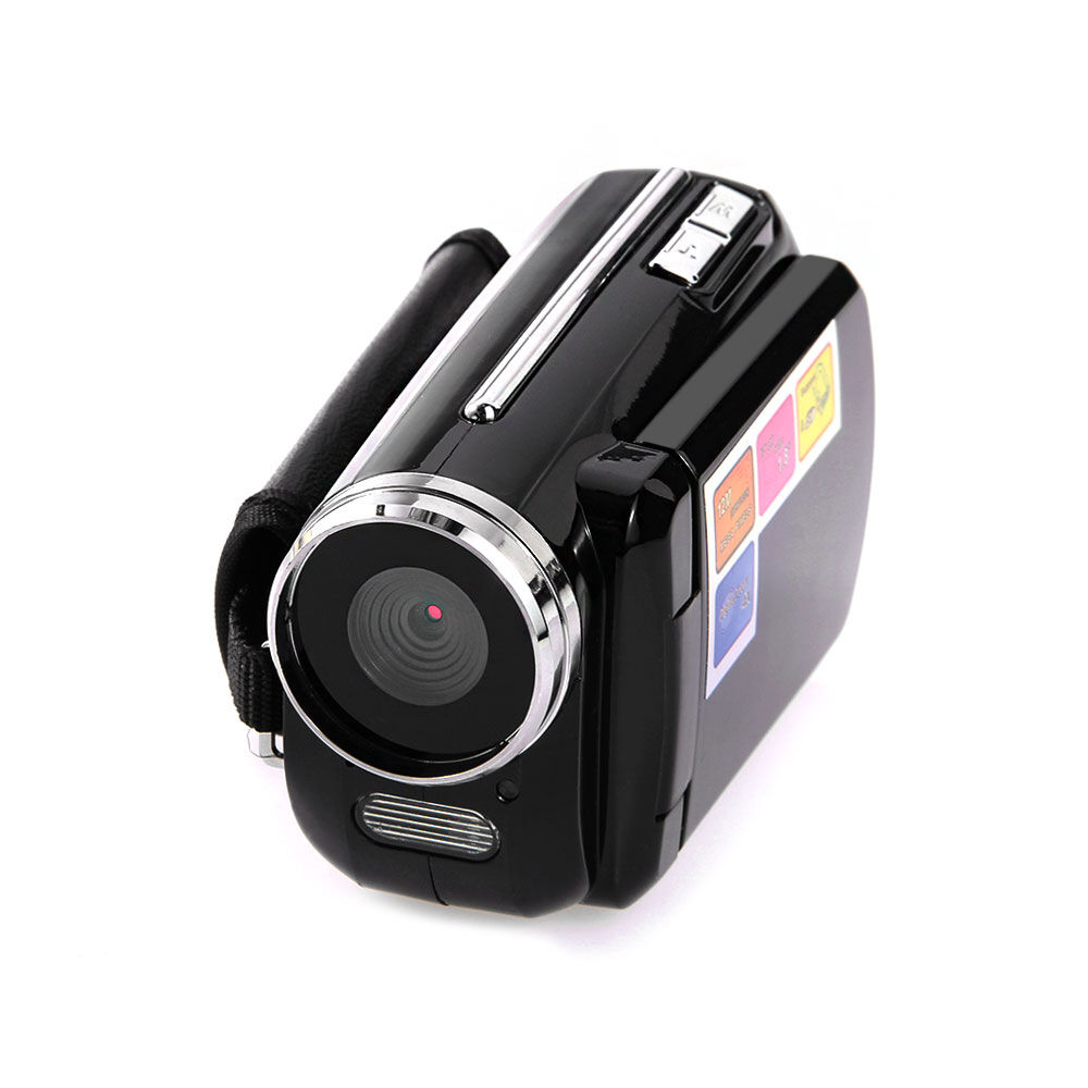 1 5 lcd hd 720p 4xzoom 12mp camera mini dv digital video camcorder recoder black ebay. Black Bedroom Furniture Sets. Home Design Ideas