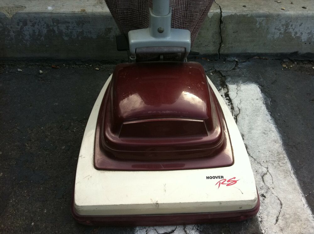 Vintage Hoover Convertible Rs Upright Vacuum Cleaner Retro