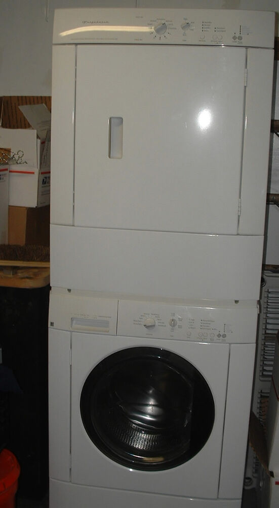 Like New Frigidaire Washer  Dryer Combination Can Be
