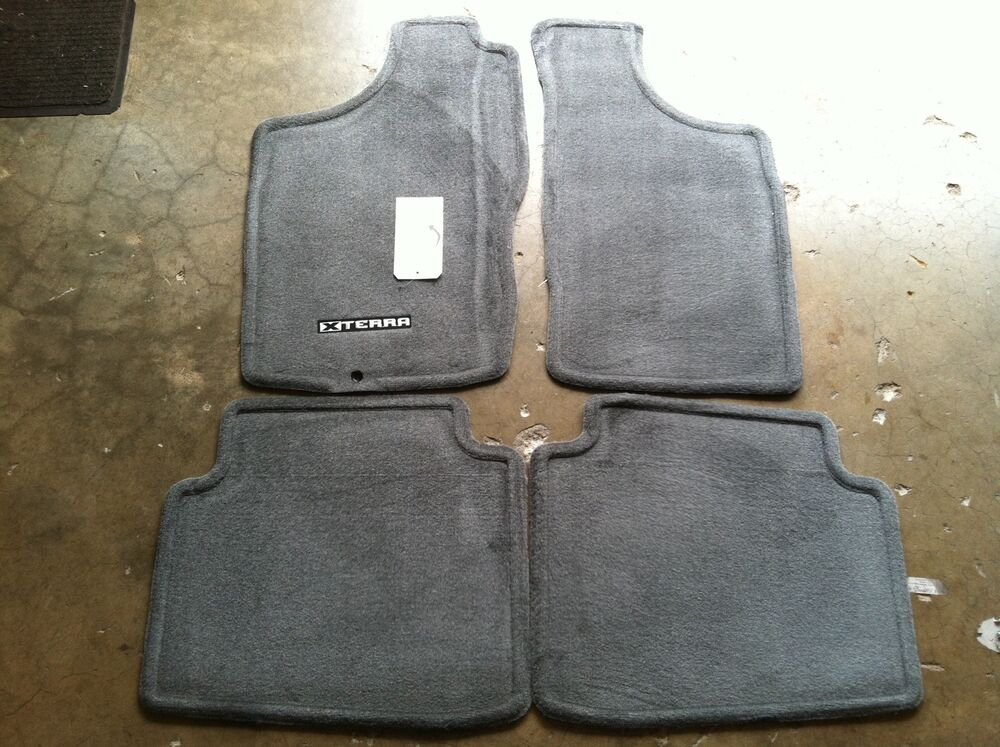 New Oem Nissan Carpet Floor Mats Xterra 2000 2004 Charcoal