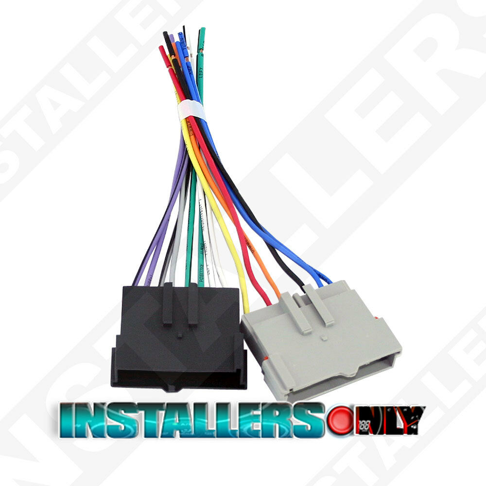 aftermarket car stereo radio wiring harness ford 1770. Black Bedroom Furniture Sets. Home Design Ideas