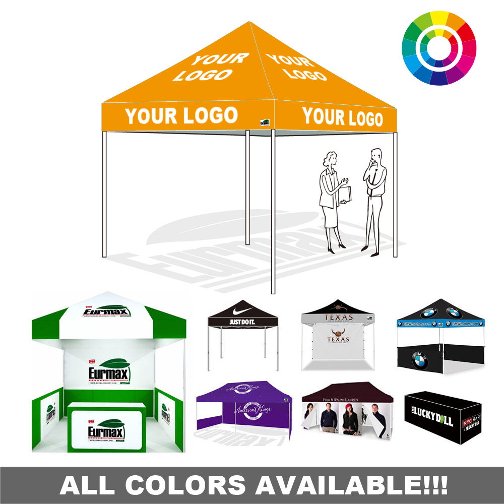 Custom Ez Pop Up Commercial Canopy Instant Vendor tent free proof