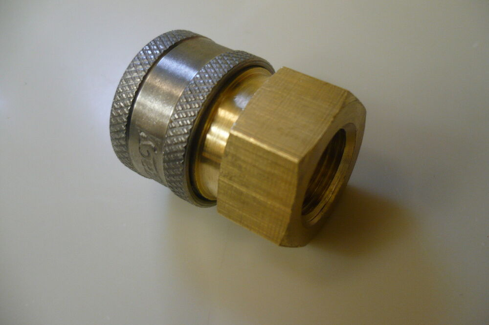 High Pressure Coupler : Pressure washer quot quick coupler disconnect socket high