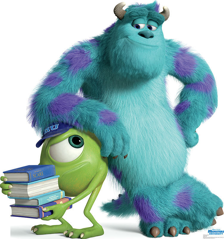 MONSTERS UNIVERSITY INC MIKE SULLEY SULLY LIFESIZE STANDUP