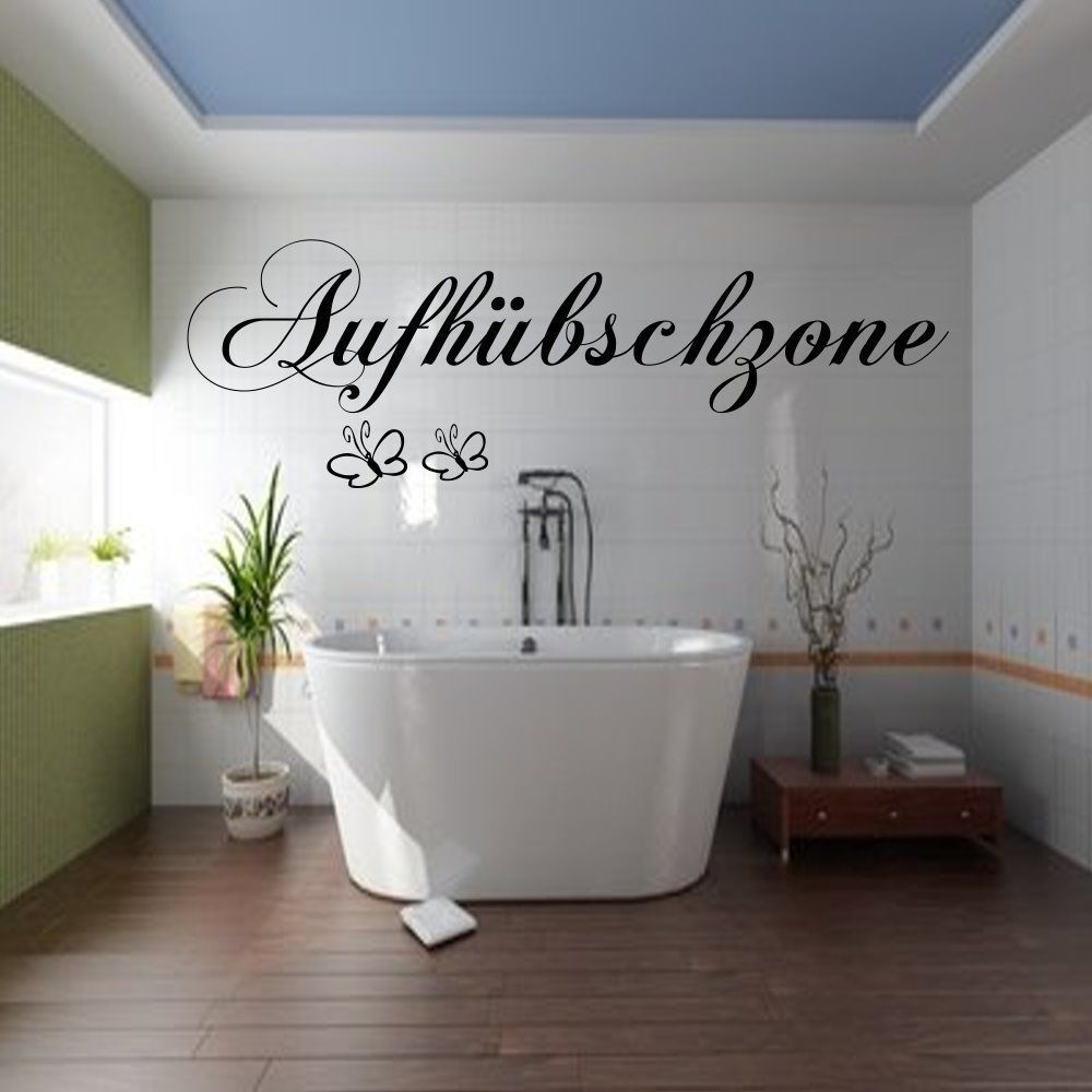 wandtattoo badezimmer aufh bschzone fliesen aufkleber wandtatoo wandspruch ebay. Black Bedroom Furniture Sets. Home Design Ideas