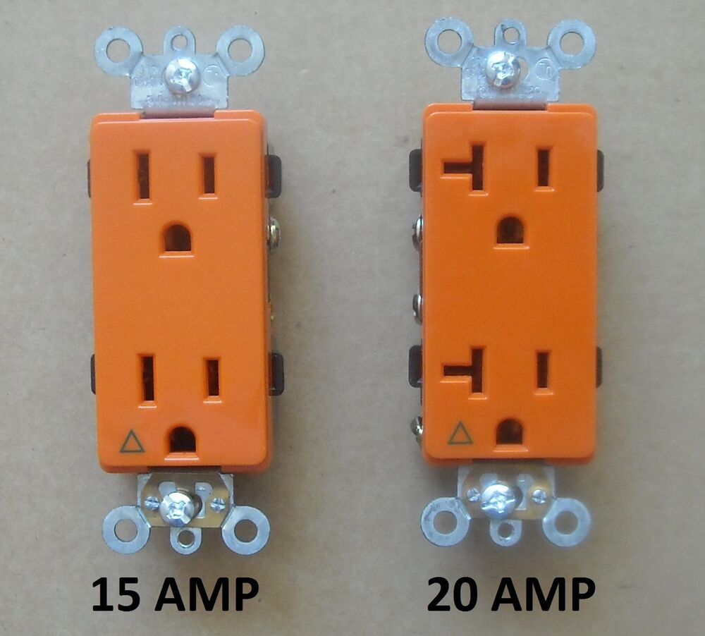 Decora Isolated Ground Receptacle Plug Decorative Outlet