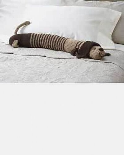 Knitting Pattern For Dog Draught Excluder : dog draught excluder knitting pattern 99p eBay