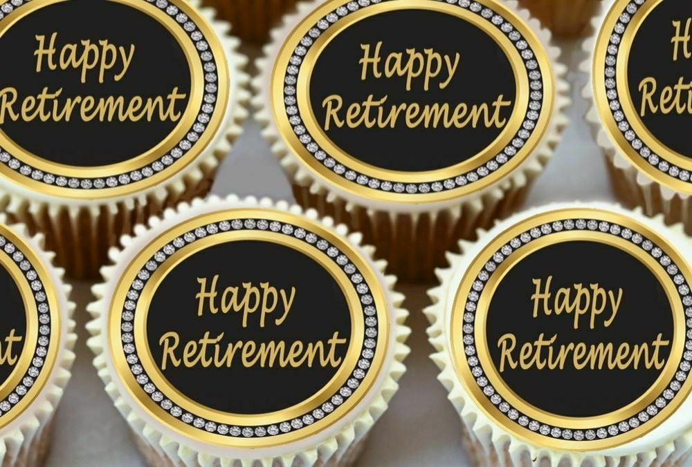 Retirement Cake Toppers