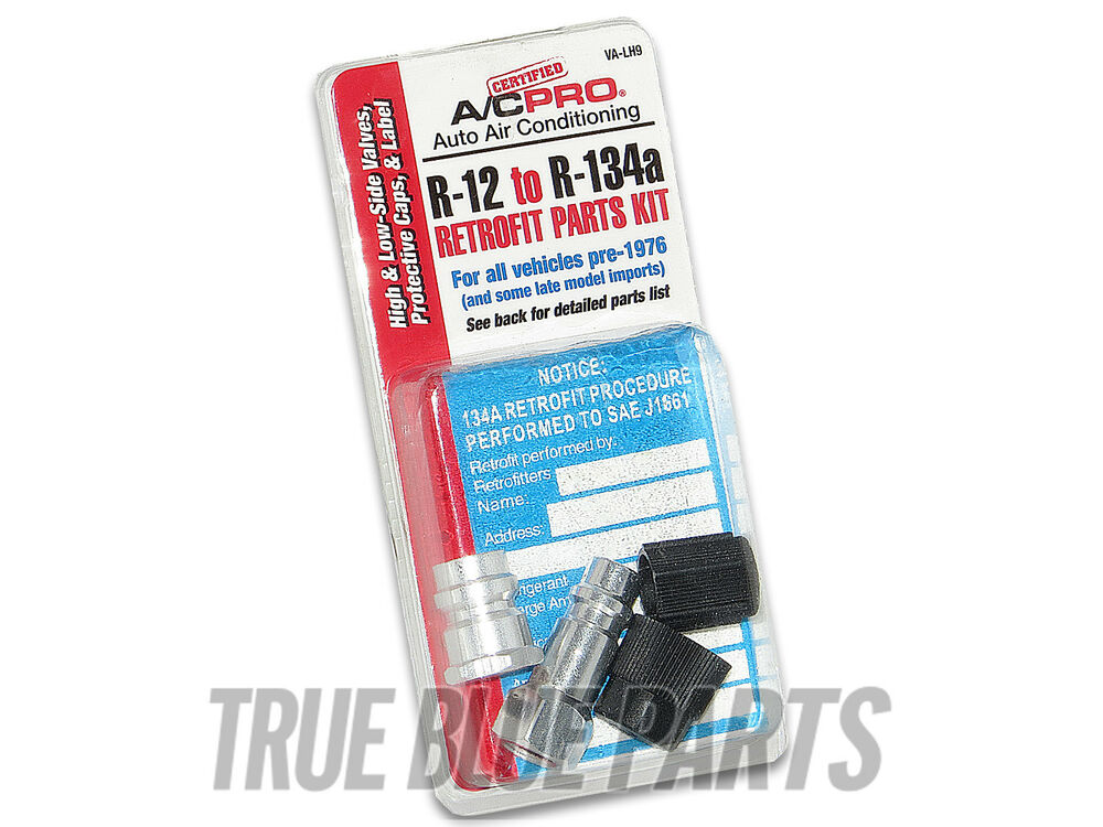 Automotive A C Retrofit Kit From R12 To R 134a For All