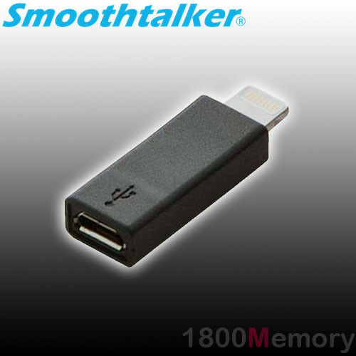 smoothtalker universal micro usb to apple lightning. Black Bedroom Furniture Sets. Home Design Ideas