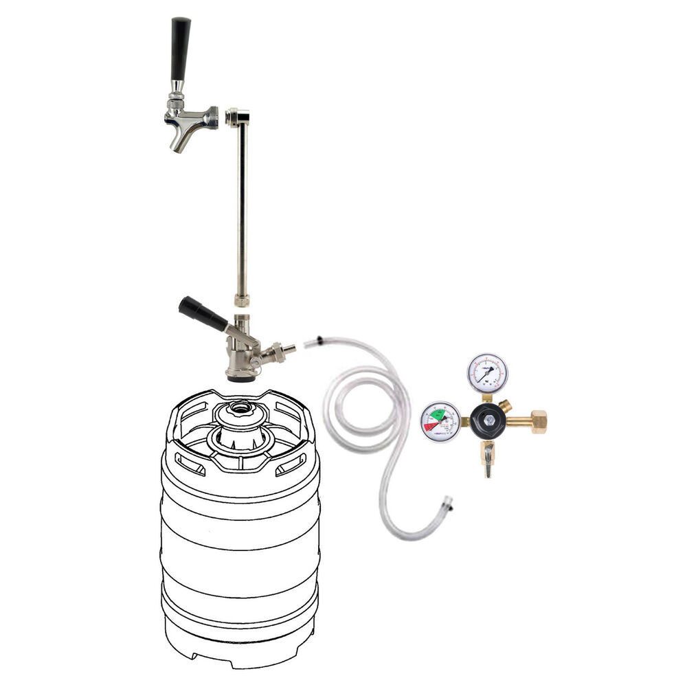 Rod Amp Faucet Co2 System W Out Co2 Tank Draft Beer Keg