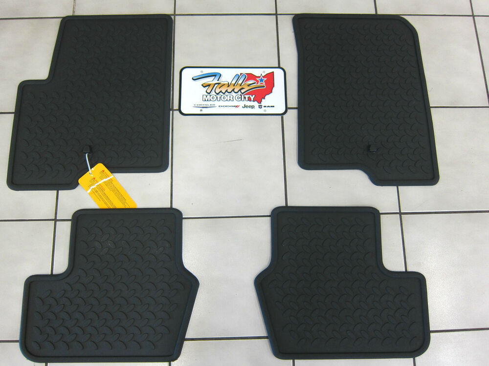 2007 2016 Jeep Patriot Compass Rubber Slush Floor Mats
