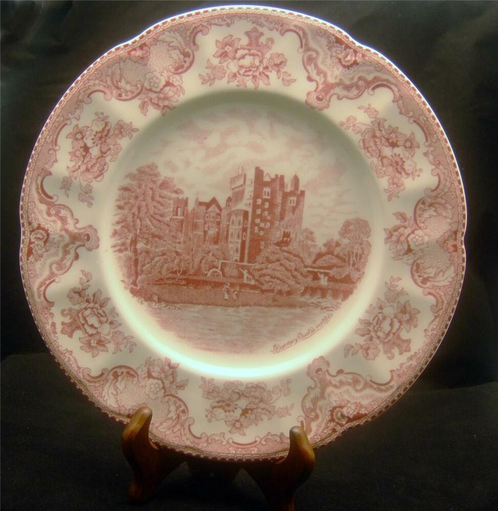 JOHNSON BROs BLARNEY CASTLE 1792 COLLECTOR\'S PLATE - OLD BRITAIN ...