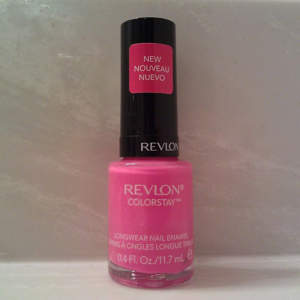 Revlon Nail Polishes: Revlon ColorStay Longwear Nail Polish Enamel GEL Finish